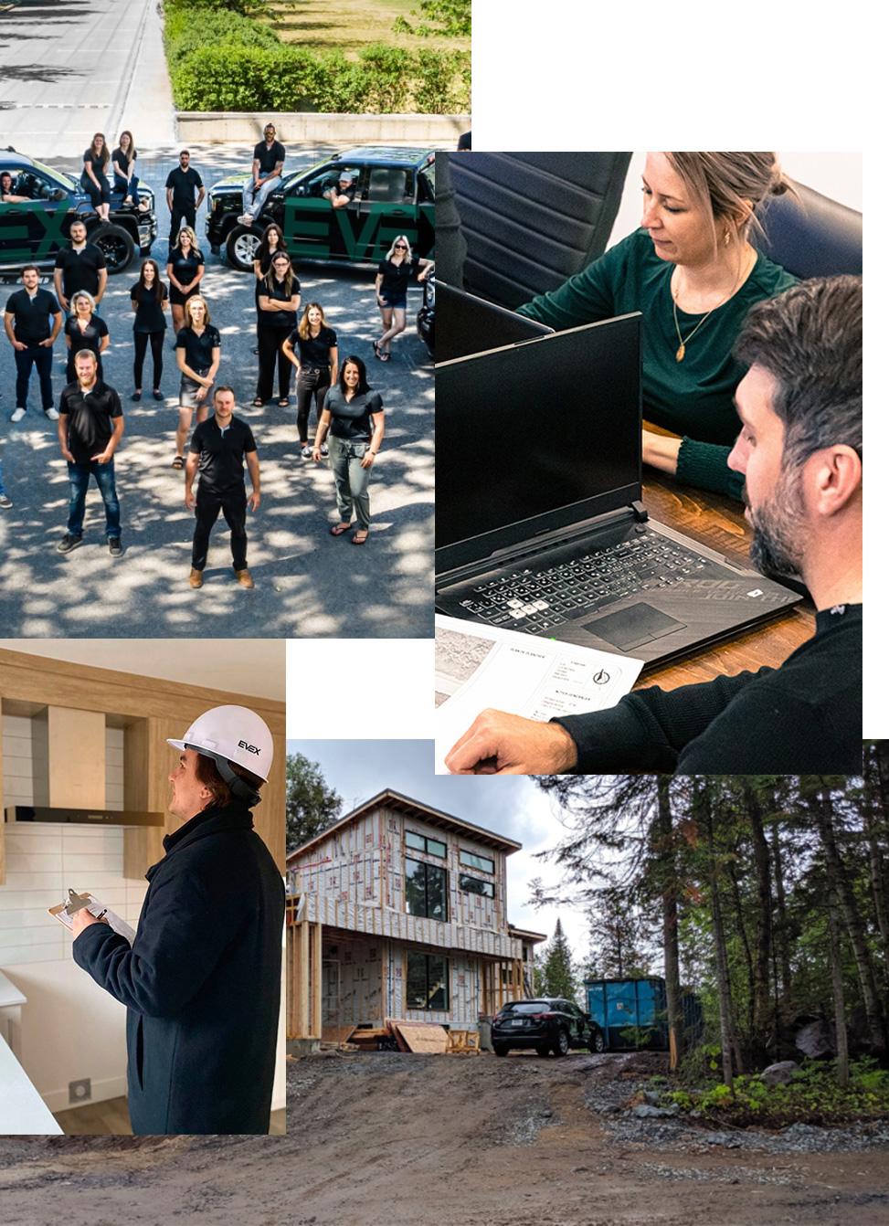 Mosaique image Construction EVEX